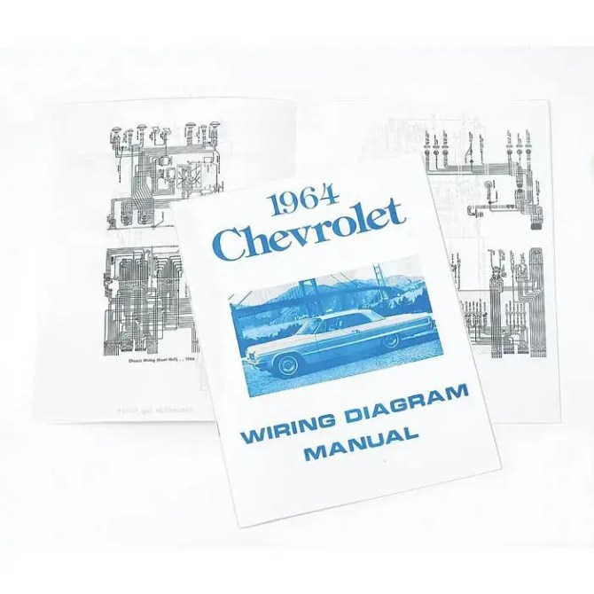 full size chevy wiring harness diagram manual 1964
