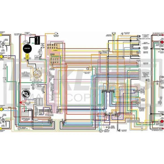 1973 chevy el camino wiring diagram  1974 ford truck