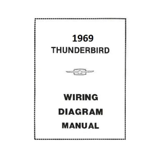 1969 ford thunderbird wiring diagram