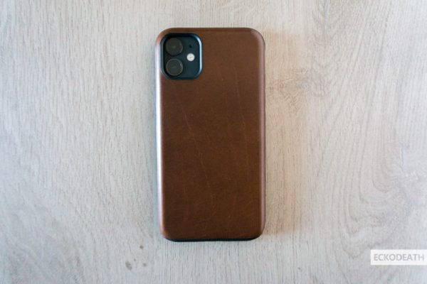 Nomad Rugged Case Brown unboxing-7-min