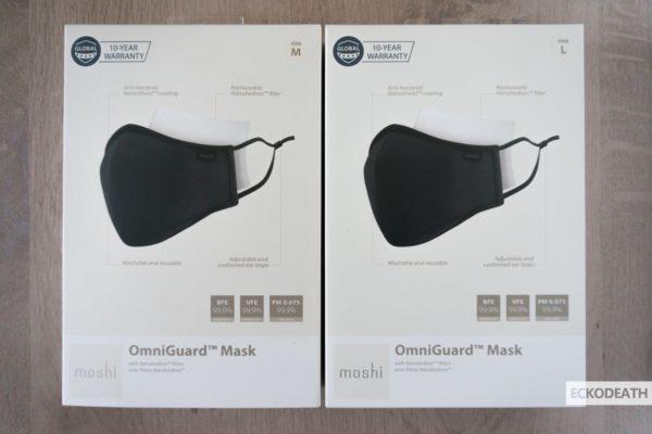 Moshi OmniGuard Mask unboxing-1-min