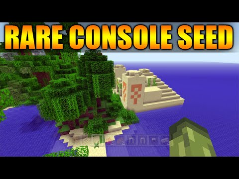 Minecraft Xbox 360 PS3 TU30 Rare Unique Seeds