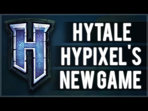 HYTALE GAME HYPIXELS NEW GAME REVEALED OFFICIAL