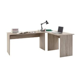FMD Möbel 351-001 Winkelkombination Till circa 205 x 76 x 65,0/155 cm, eiche -