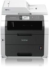 Brother MFC-9332CDW Kompaktes 4-in-1 Farb-Multifunktionsgerät (Drucken, scannen, kopieren, faxen, A4, 22 Seiten/Min., 2.400x600 dpi, LAN, WLAN, Duplexdruck, ADF, Print AirBag für 150.000 Seiten) - 1