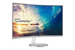 Samsung C27F591F 68,6 cm (27 Zoll) Monitor (HDMI, 4ms Reaktionszeit, 1920 x 1080 Pixel) silber/weiß - 1