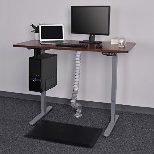 FLEXISPOT Kabelkanal Kabelschlauch 128 cm f/ür flexibles Kabelmanagement an Computer und Arbeitsplatz /…