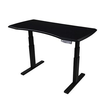 FLEXISPOT stabile Tischplatte 2,5 cm stark - DIY Schreibtischplatte Bürotischplatte Spanholzplatte - 3
