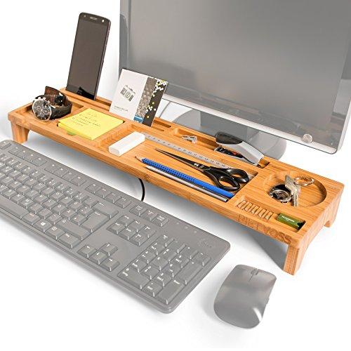 Pietvoss Schreibtisch Organizer Aus Bambus