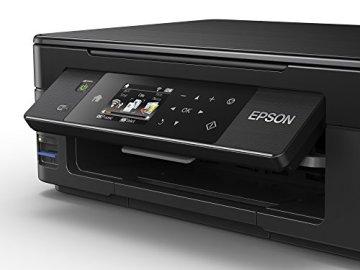 Epson C11CF30403 Expression Home XP-442 3-in-1 Tintenstrahl-Multifunktionsgerät (Drucker, Scanner, Kopierer, WiFi, Duplex, Einzelpatronen) schwarz - 2
