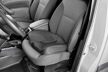 newgen medicals Autositzkissen: Ergonomisches Memory-Foam-Sitzkissen für Auto, Schreibtisch u.v.m. (Sitzpolster) - 8