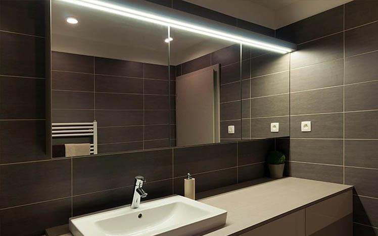 Choisir son clairage led salle de bain
