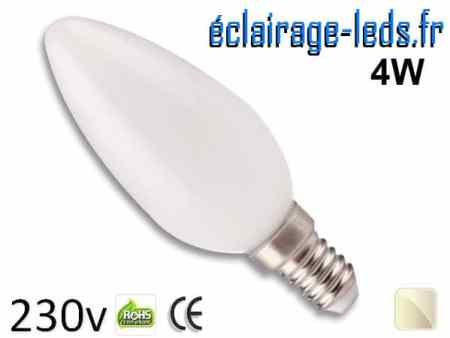 Ampoule Led E14 liquide 4w blanc naturel IP65 230v