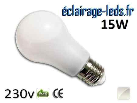 Ampoule Led E27 liquide 15w blanc Naturel IP65 230v