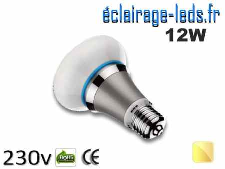 ampoule led e27 queen 12w blanc chaud