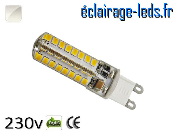 Ampoule LED G9 3.5w smd 2835 blanc naturel 230v