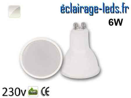Ampoule LED 6w blanc naturel 230v