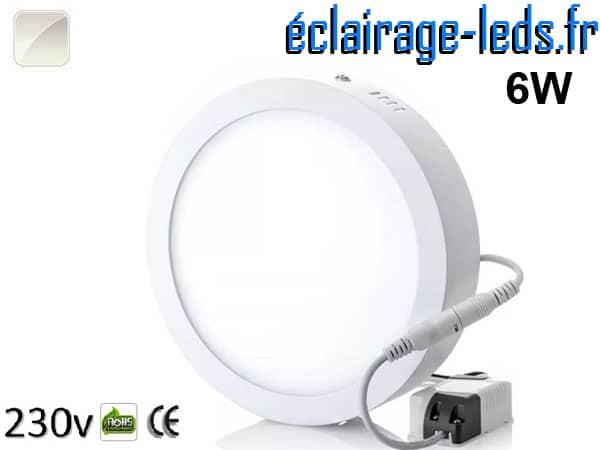 Spot LED 6w blanc naturel 230v