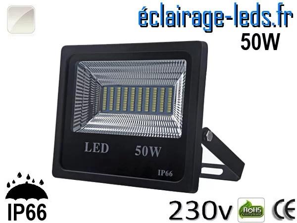 Projecteur LED extérieur 50w IP66 Blanc naturel 230V