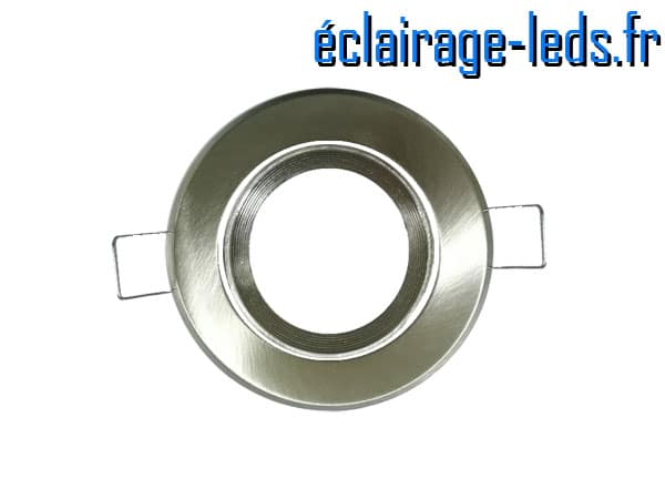 Support LED chrome orientable perçage 70mm