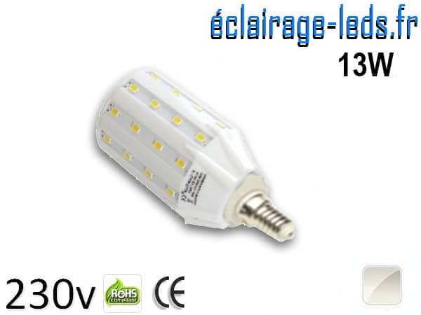 Ampoule LED E14 13W SMD5630 Blanc naturel 230V