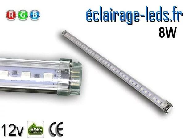 Bandeau LED 50cm rigide 8W RGB 12V