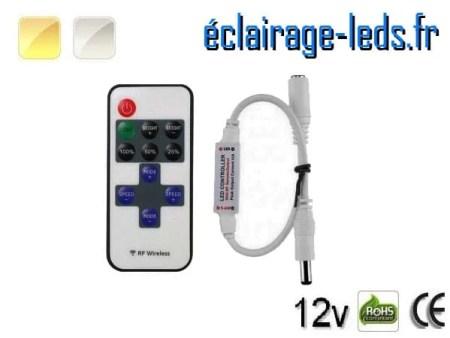 Variateur d'intensité bandeau LED 12V monochrome prise jack