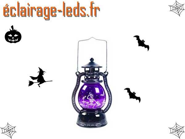 Lanterne décoration Halloween LED 15 cm