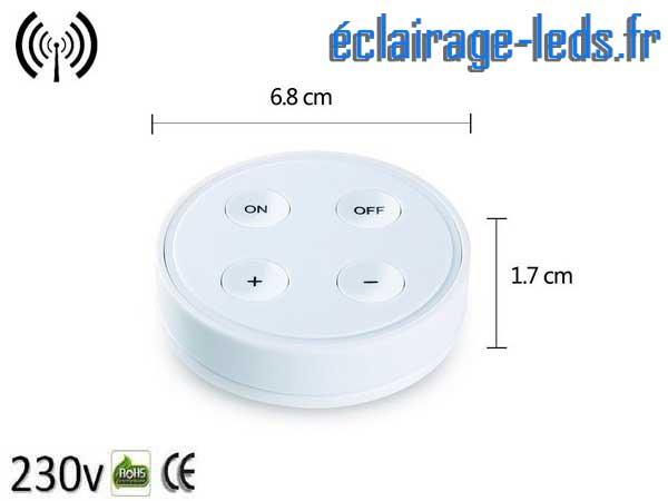 Ampoule LED E27 12W Luminosité & Température pilotable 2