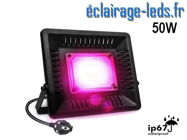 Projecteur LED Horticole 50w plein spectre IP67