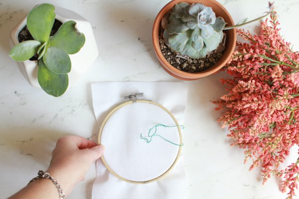 Learn How to Cross Stitch Part 5: Learn How to Back Stitch