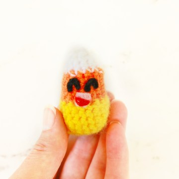 Candy Corn Free Crochet Pattern: 31 Days of Candy Day 30 by E'Claire Makery