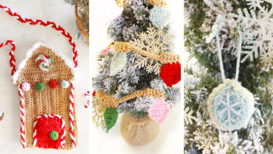Crochet Christmas Patterns by E'Claire Makery