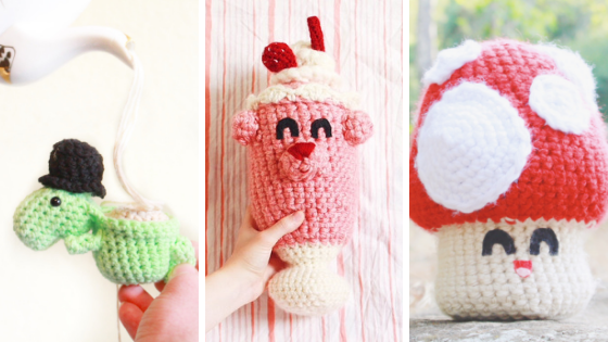 Favorite Amigurumi Designs by ECLAIREMAKERY.COM