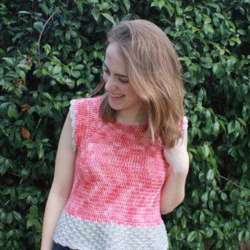 She Sells Sea Shells Top Beginner Friendly Free Crochet Pattern by ECLAIREMAKERY.COM