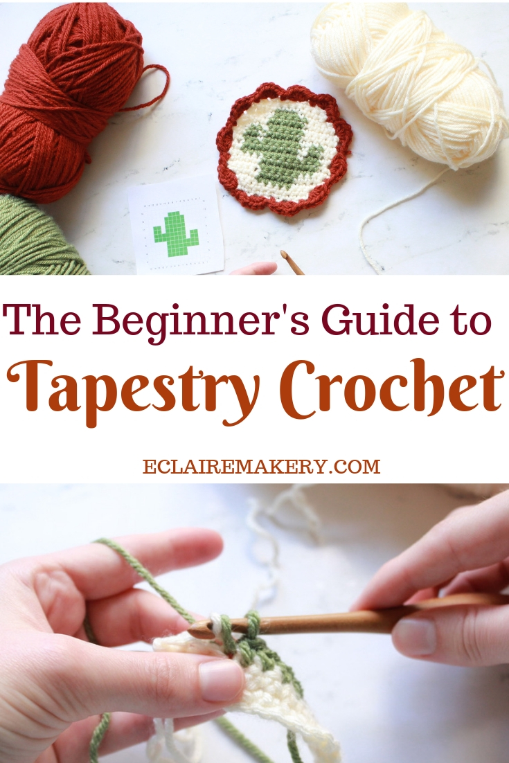 Beginner's Guide to Tapestry Crochet by E'Claire Makery