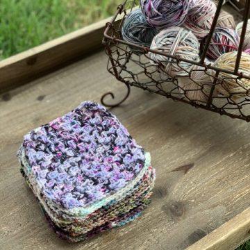 Scrappy Granny Square: Free Crochet Pattern