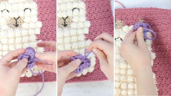 How to Assemble the Flowers on the Llama Wall Hanging