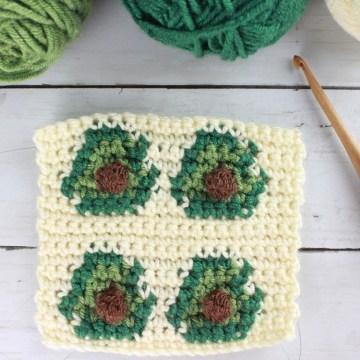 Avocado Stitch: Tapestry Crochet Stitch Pattern