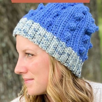 Honey Creek Beanie: Free Crochet Hat Pattern