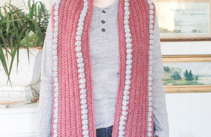 Your Cozy Pocket Scarf: Free Crochet Pocket Scarf Pattern