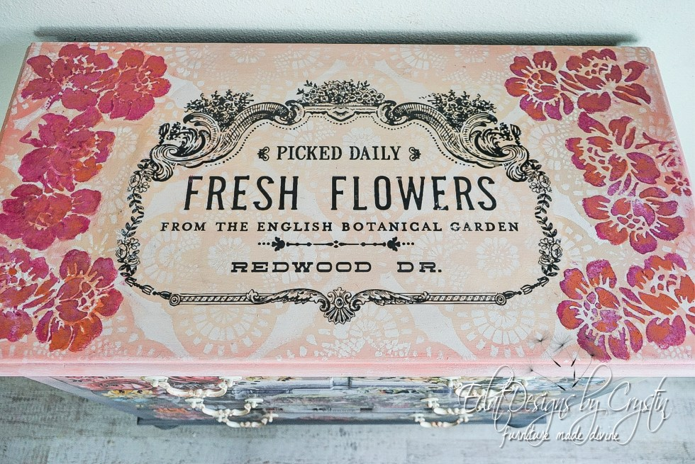 Fresh Picked Flowers Dresser-9