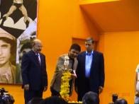 Actor Ramesh Aravind innaugurating AT-13