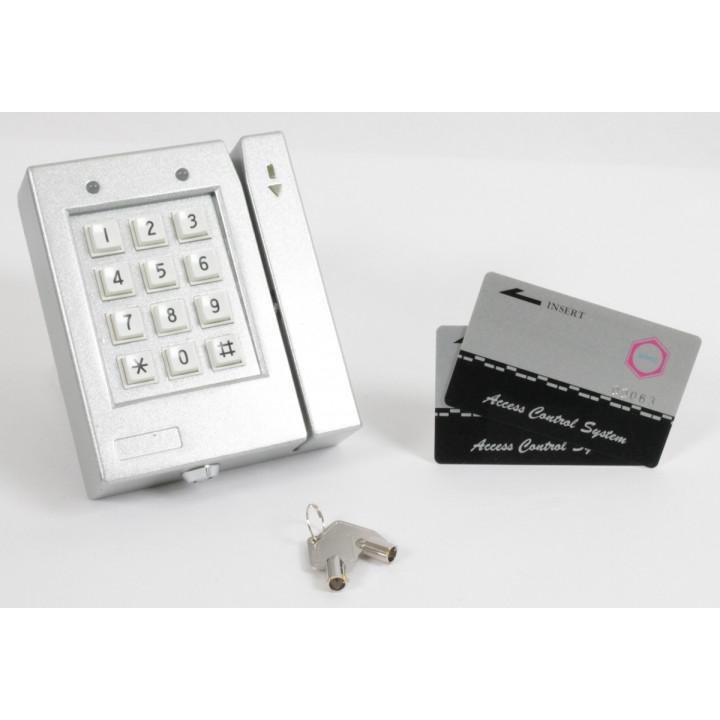 Lecteur autonome carte magnetique acs707 contrôle acces application domotique pointeuse cartes carte - Eclats Antivols