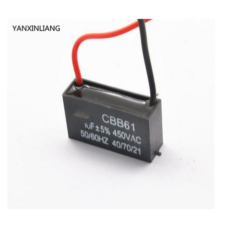Cbb61 450v 3uf Air Conditioning Blower Fan Start Capacitor Capacitance Inserts Eclats Antivols