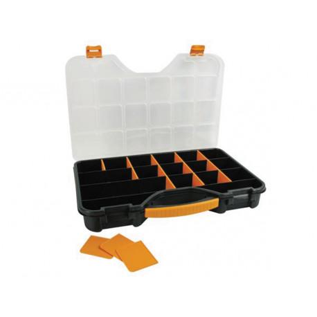 boite de rangement 24 coffrets boite pour vis quincaillerie omr24 eclats antivols