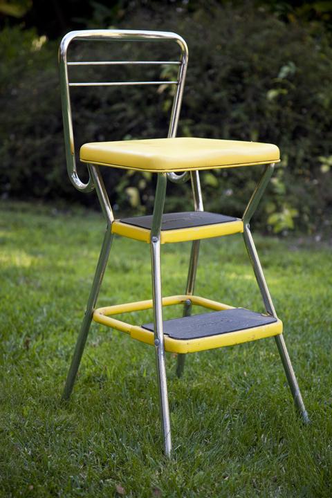 cosco kitchen stool chair swivel designer retro step eclectibull