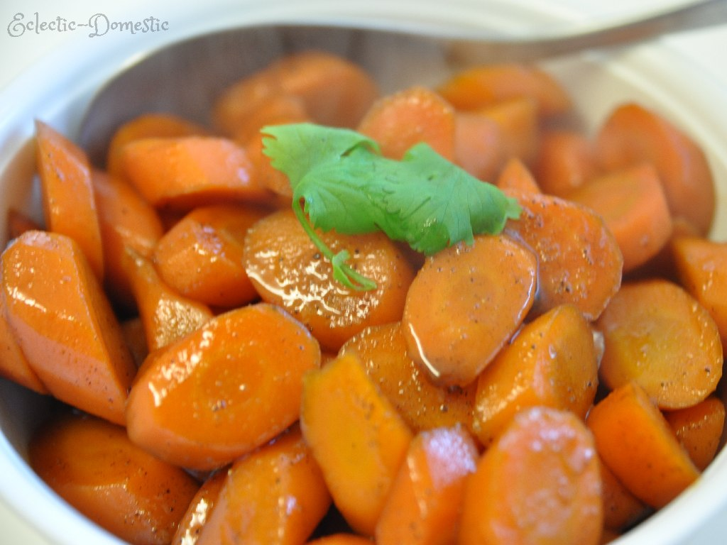 Five-spice glazed carrots