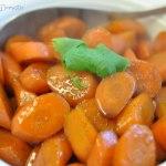 Five-spice glazed carrots