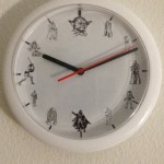 A long time ago in a galaxy far, far away… (Clock upcycle)